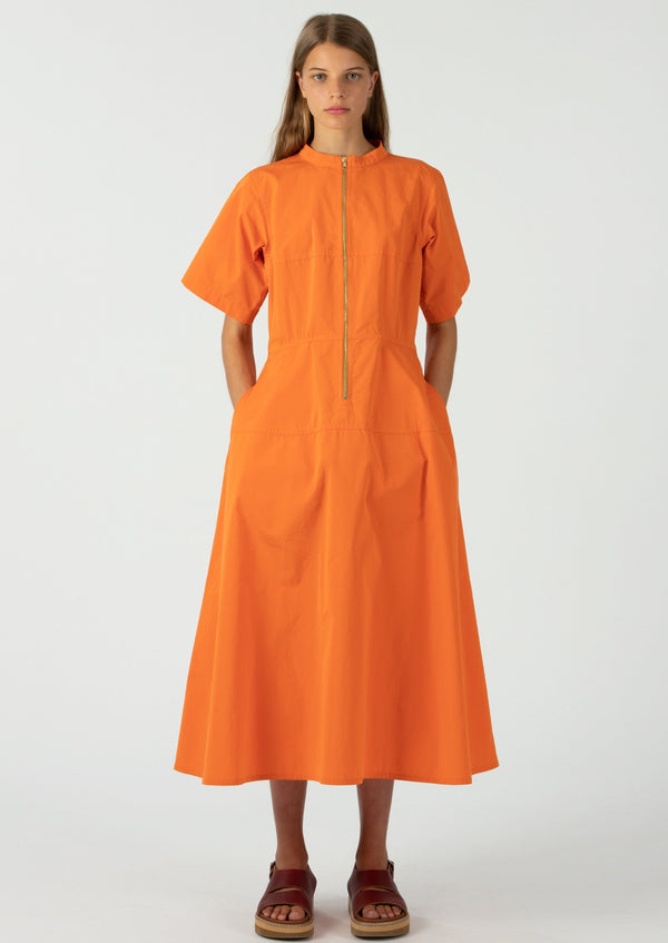 Sofie D'Hoore Orange Drama Dress