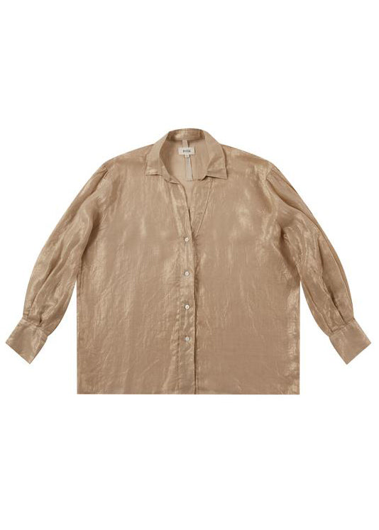 Chopa Gold Linen Shirt