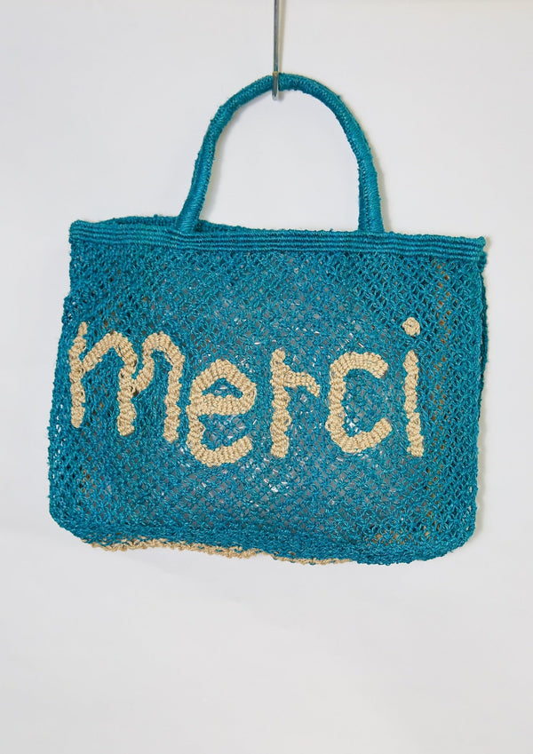Merci Bag, Ocean Blue