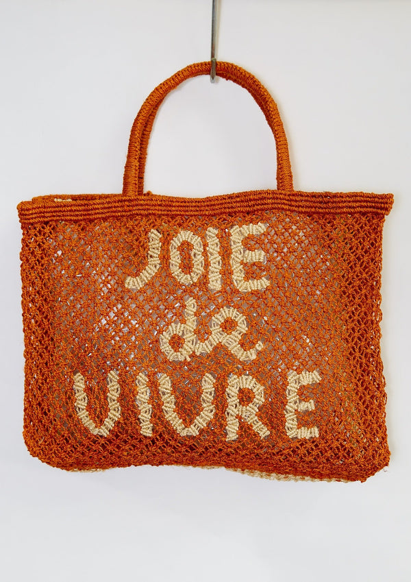 """Joie De Vivre"" Bag, Orange"