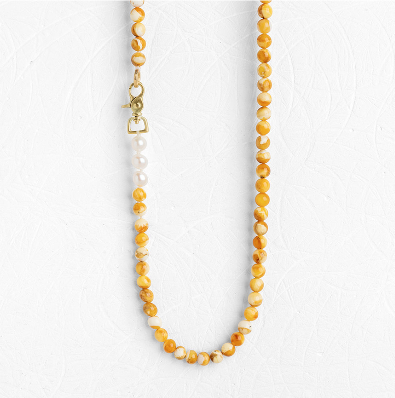 Amber Spiro Necklace