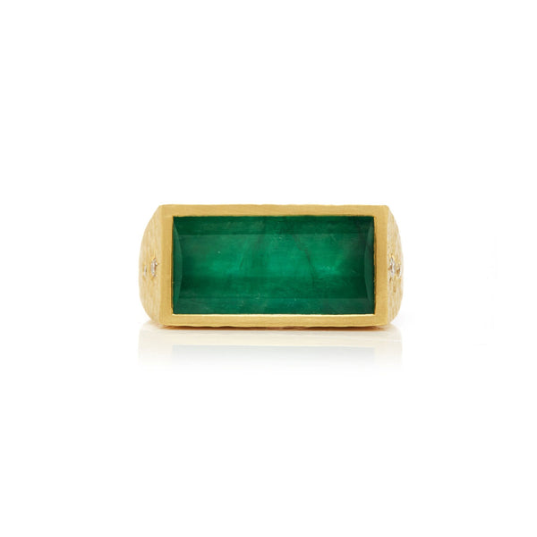 Emerald Ambition Ring