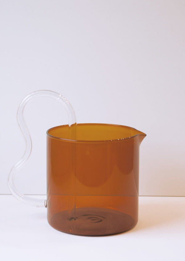Sophie Lou Jacobsen Glass Bean Pitcher