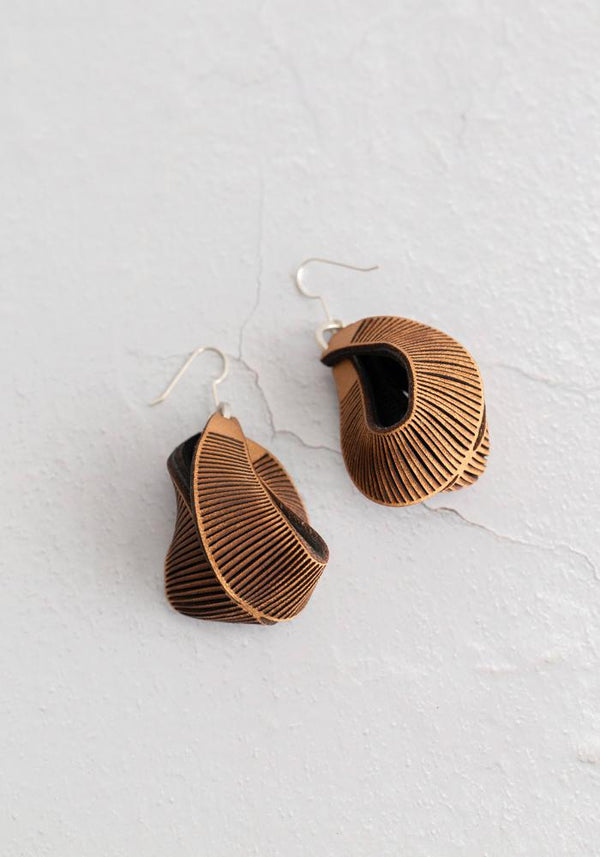 Tiny Cave Grotto Earrings