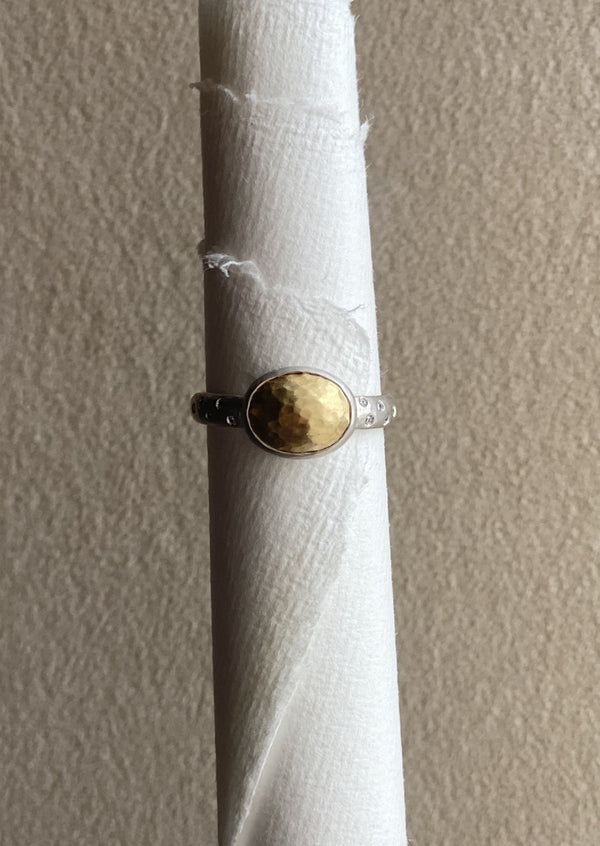 Gold Cabochon Atelier Ring II