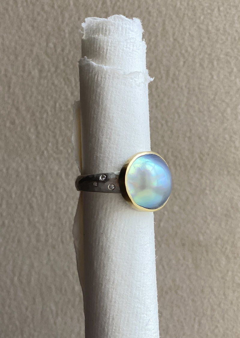 Abalone (Sea of Cortez) Pearl Ring