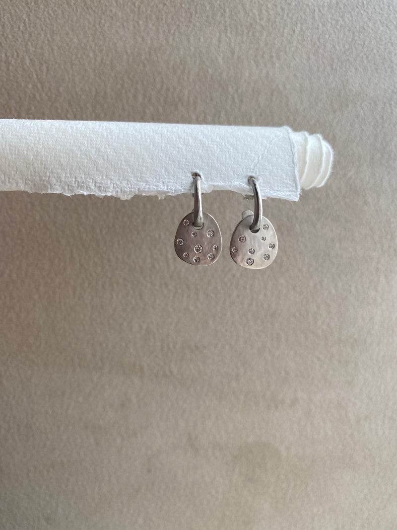 Classic Sterling Petal Earrings