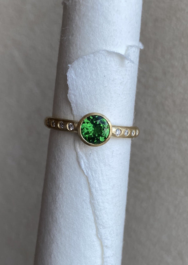 Favorite Tsavorite  Ring