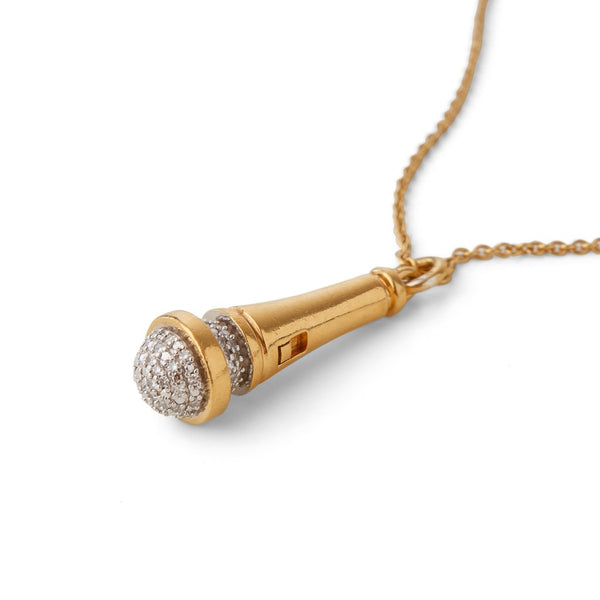 Hot Mic - Microphone, Gold