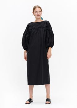 Marimekko Maininki Cotton Boat Neck Shift Dress
