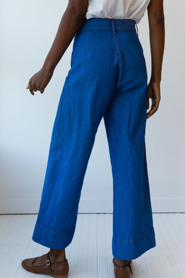 Stewart Pant, Blue Denim