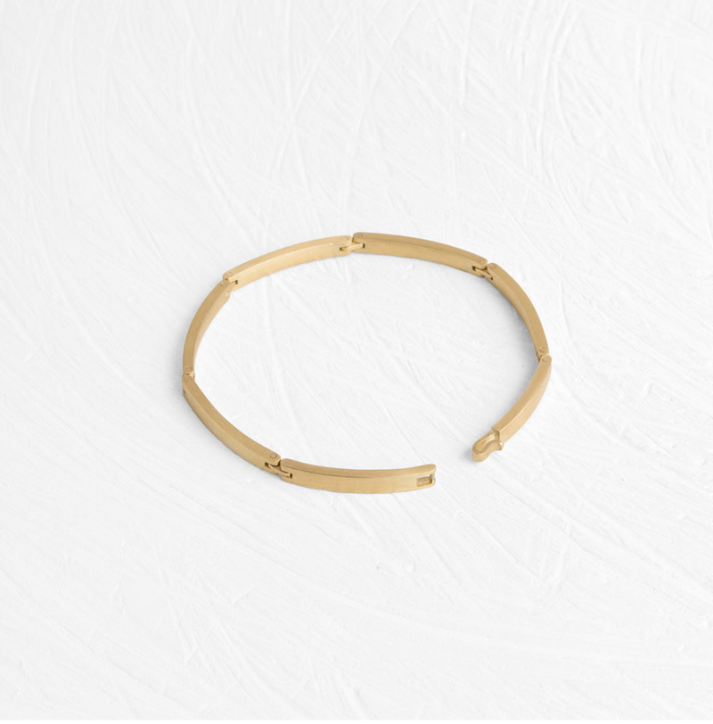 Rectangular Linked Bracelet