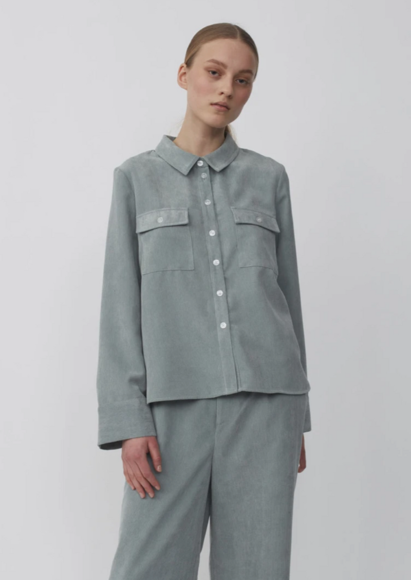 JUST FEMALE Corduroy button-up Shirt jacket