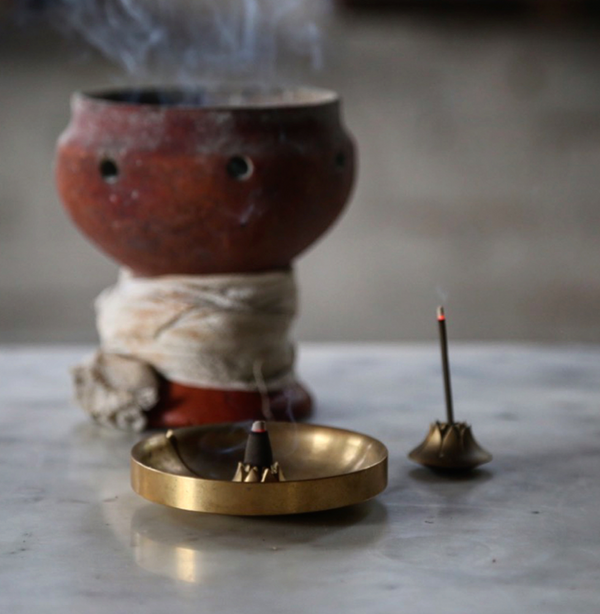 Tennen Incense Brass Burner