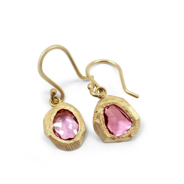 Page Sargisson 18K Pink Sapphire Earrings