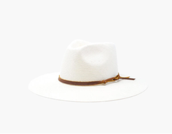 Lindsey Hat, White