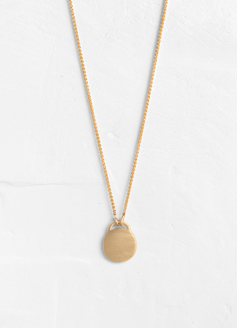 Classic Disc Necklace