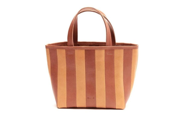 Striped Gorriti, Tan/Caramel