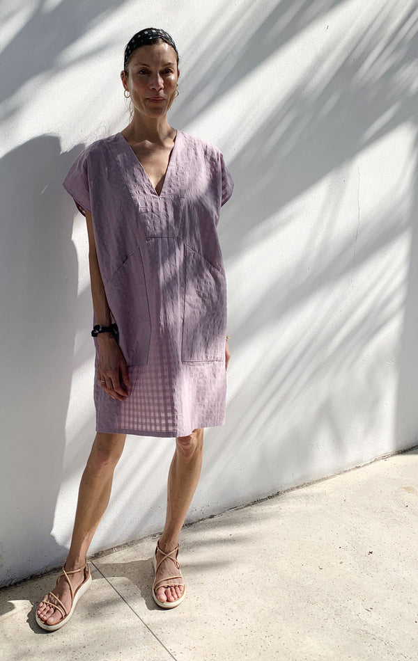 Diagonal Pocket Tunic