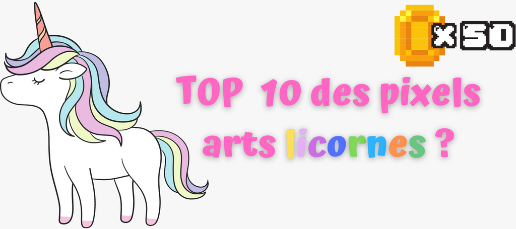 Top 10 best unicorn pixel art and tips for drawing