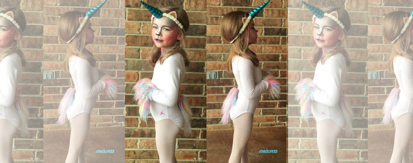 Maquillage licorne enfant