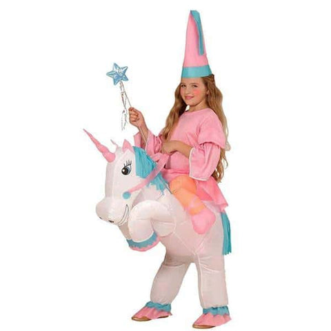 Costume licorne <br>gonflable fille - Licorne