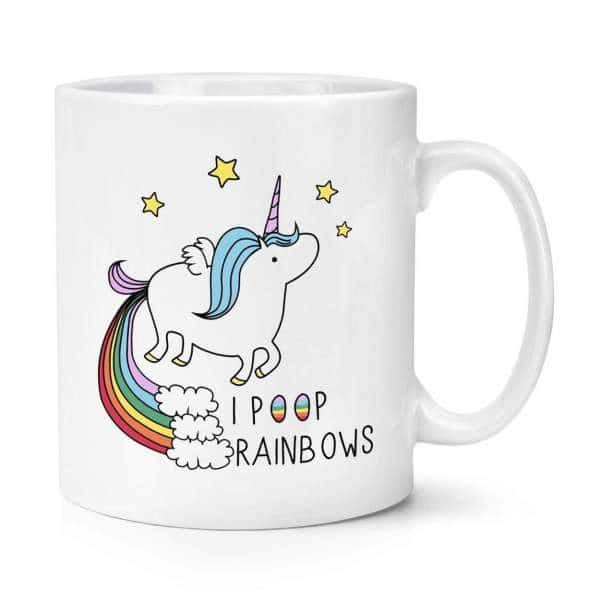 Mug licorne <br> kawaii qui pet