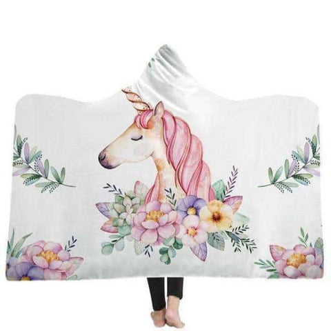 Plaid licorne <br> adulte - Licorne