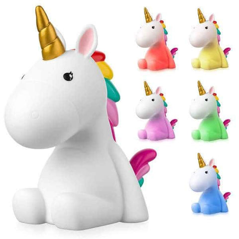 Veilleuse licorne <br> rechargeable usb
