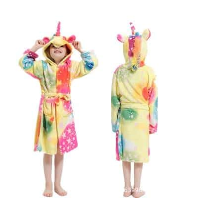 Peignoir licorne <br> enfant Multi-colore - Licorne