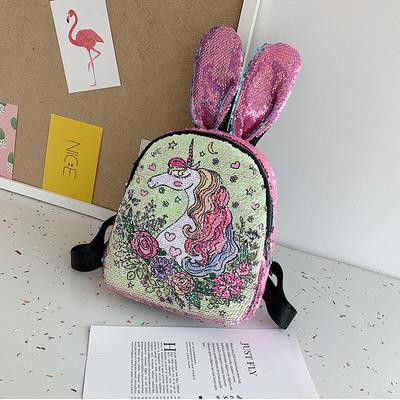 Cartable licorne Oreilles de Lapin Brillant