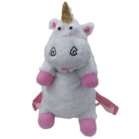 Cartable licorne Peluche Enfant