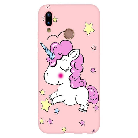 Coque licorne Huawei <br> étoile