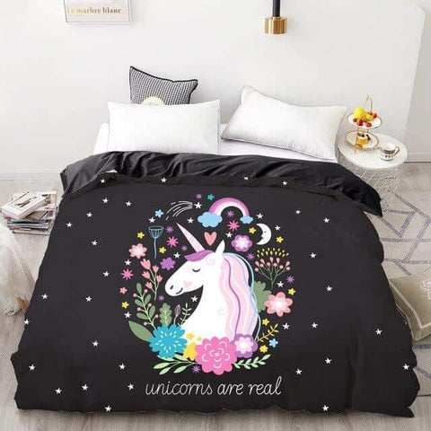 Parure de lit licorne <br> are real - Licorne