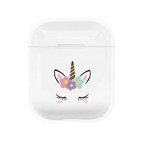 Etui airpods licorne simple