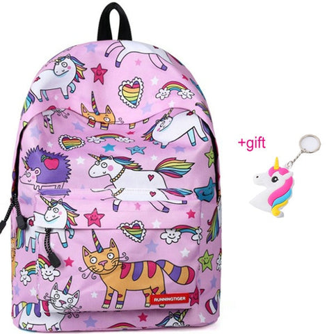 Cartable licorne Hilarant