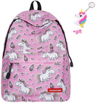 Cartable licorne Cupcake