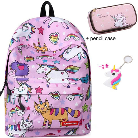 Cartable licorne Rigolo