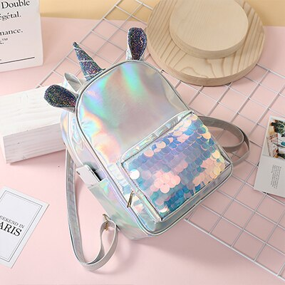 Cartable licorne Chrome