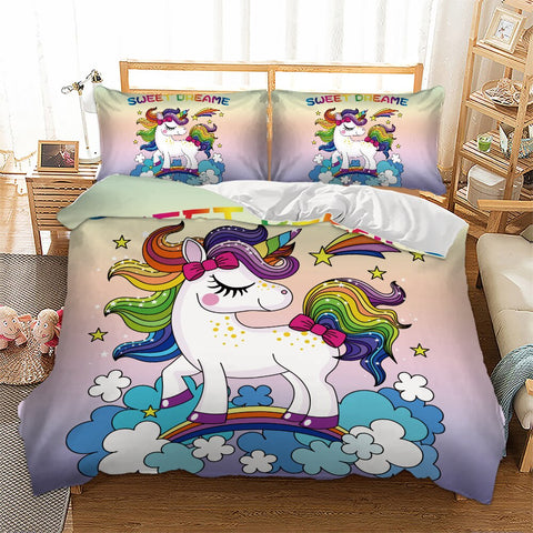 Parure de lit licorne <br> sweet dream