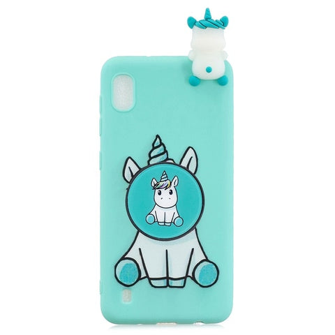 Coque licorne Huawei <br> turquoise