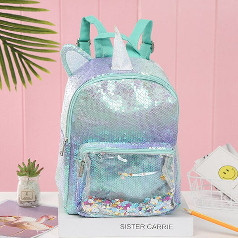 Cartable licorne Explosion de Couleurs