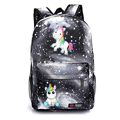 Cartable licorne Galaxy Sombre