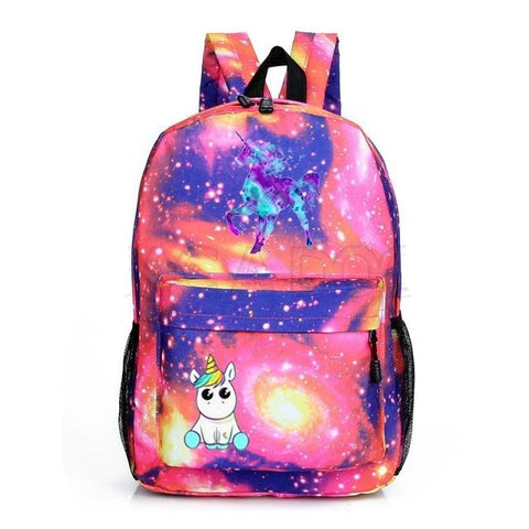 Cartable licorne Galaxy