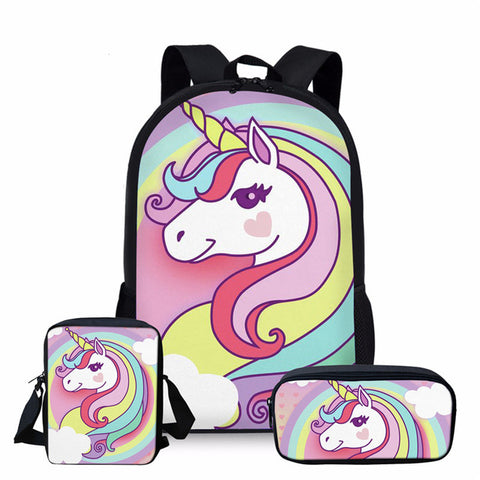 Cartable licorne Quantine