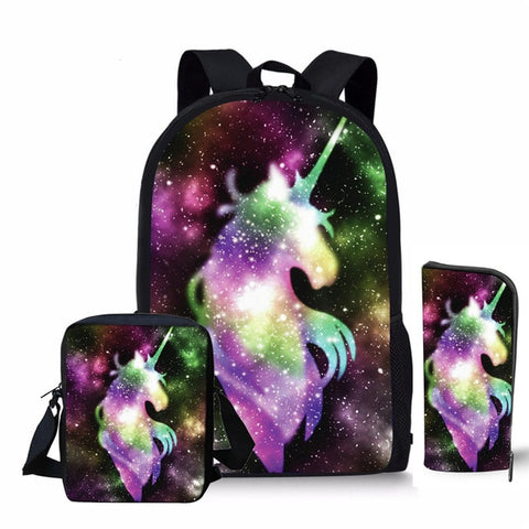 Cartable licorne Reflex Galactique
