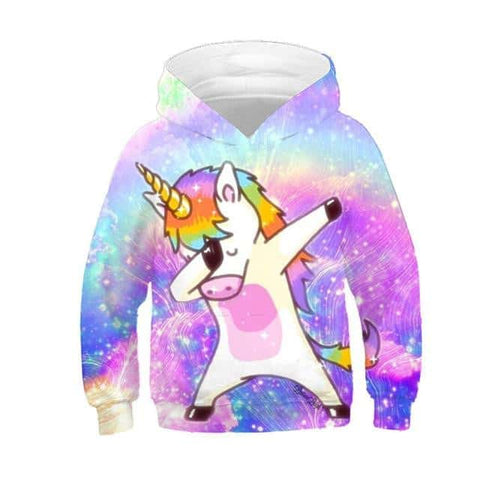 Sweat licorne <br> dab - Licorne