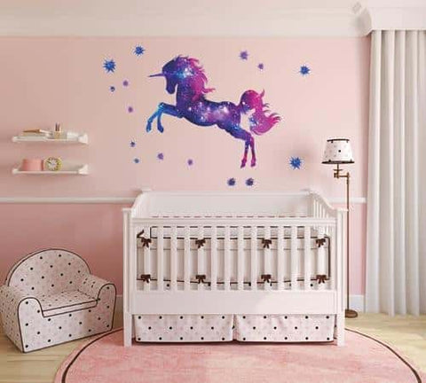 Stickers licorne <br> galaxy - Licorne