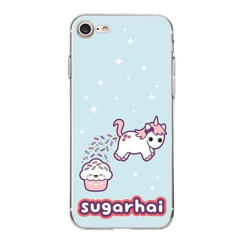 Coque licorne iPhone <br> sugarhai - Licorne