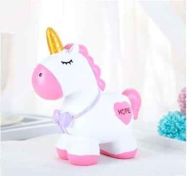 Tirelire licorne <br> incassable